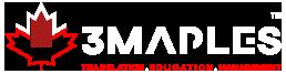 3 MAPLES Logo